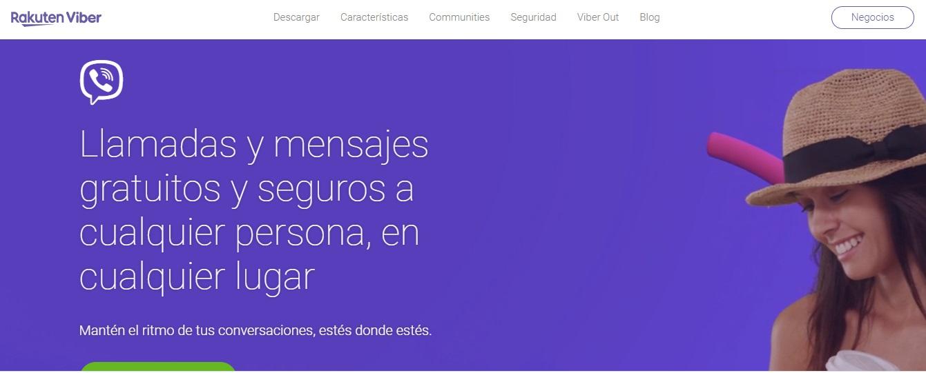 Viber, software para reuniones en línea