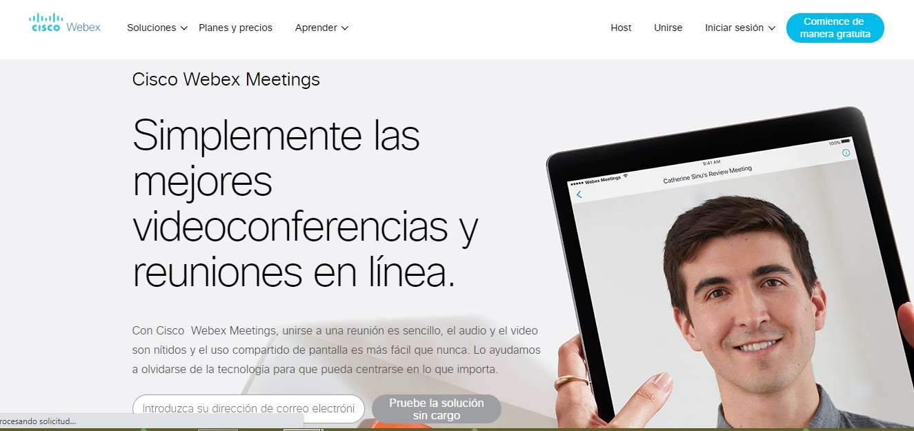 Herramientas para tu reunión navideña en línea: Webex