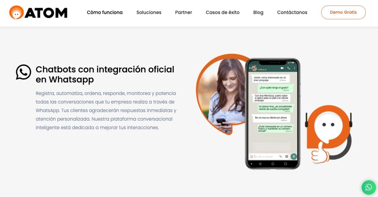 ATOM, herramienta para hacer un WhatsApp bot