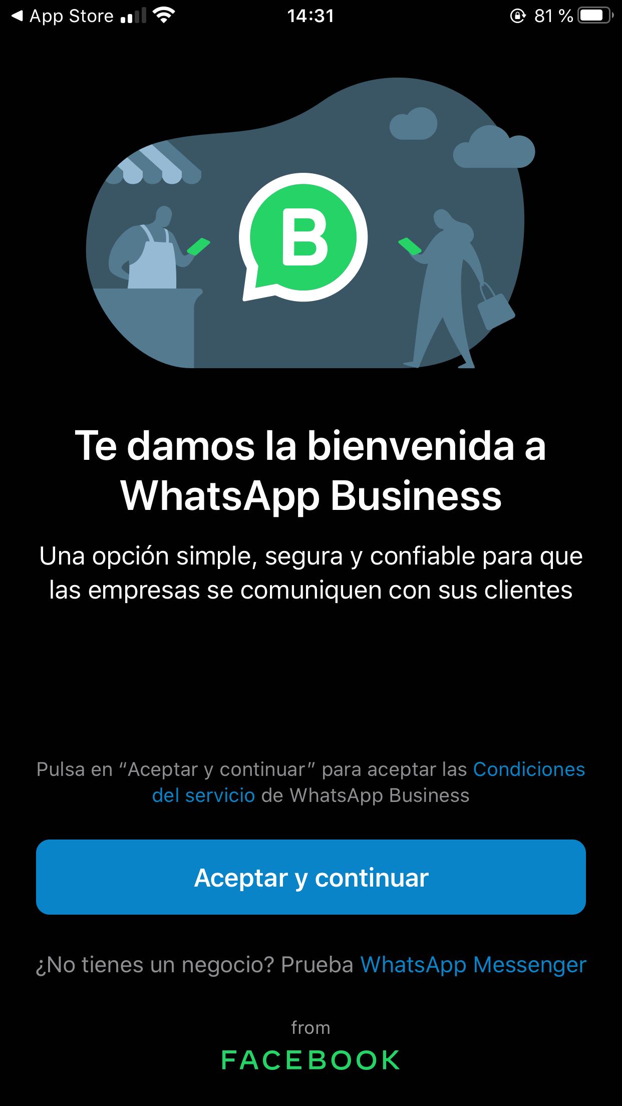 Cómo programar respuestas en iOS: descarga WhatsApp Business