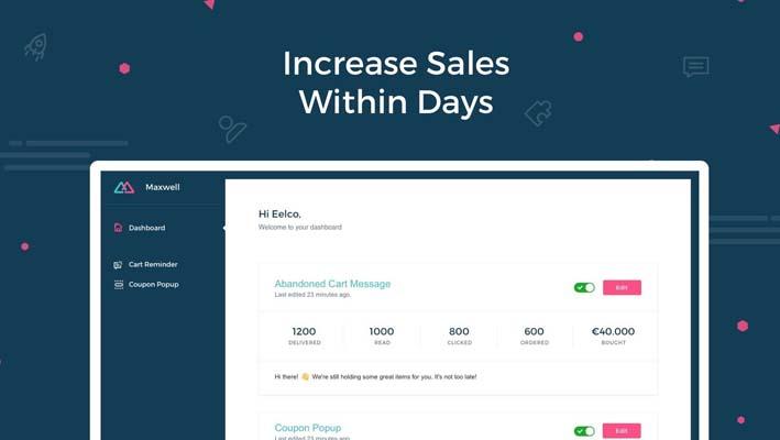 WhatsApp & Messenger Marketing, app de comunicación para tiendas de Shopify