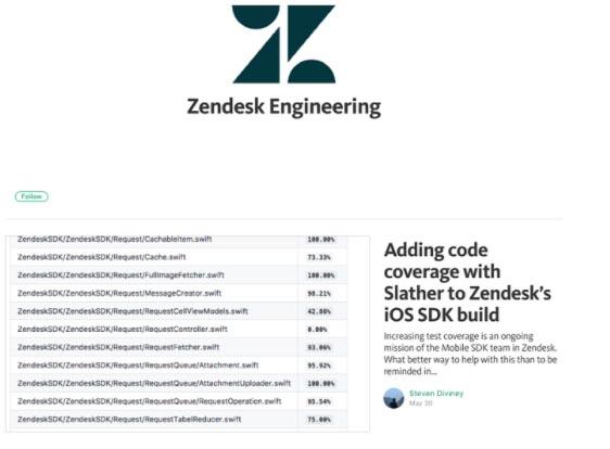 Ejemplo de marketing B2B de Zendesk